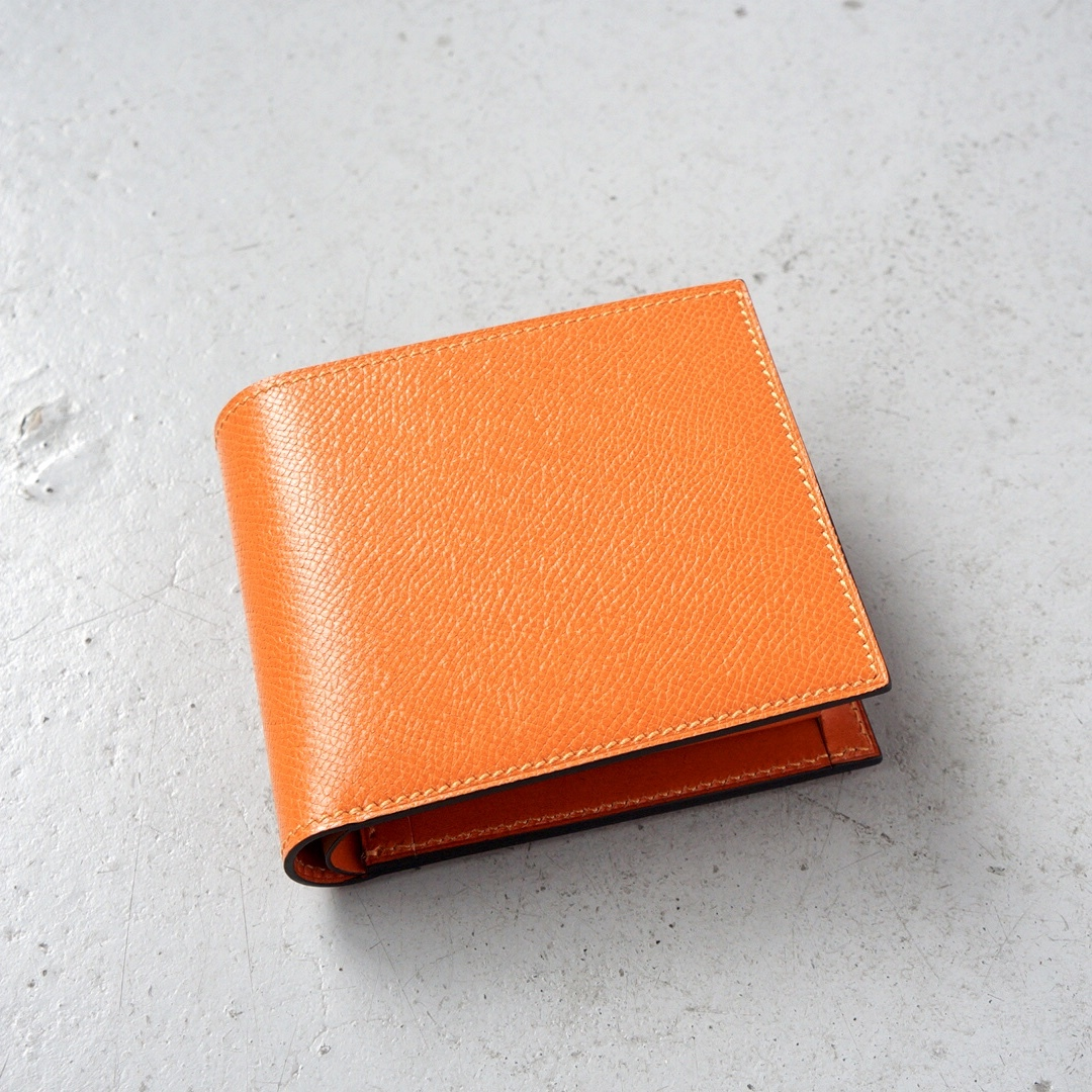 二つ折財布 <Regulus> オレンジ