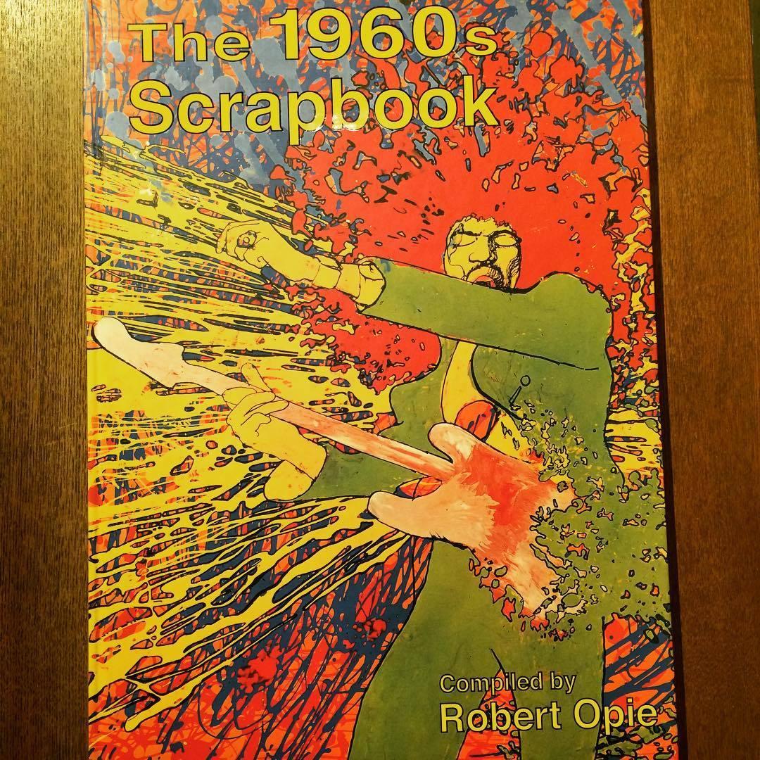 60年代デザイン ビジュアルブック「The 1960s Scrapbook/Robert Opie」 - 画像1
