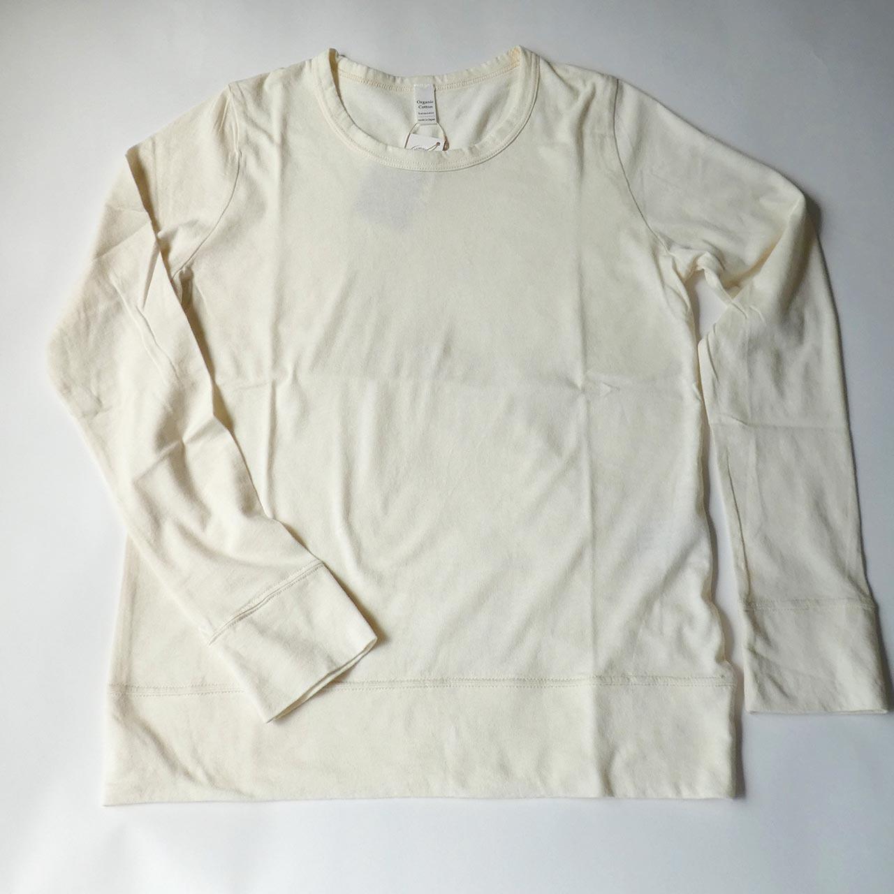 harmonie オーガニックコットンTシャツ・長袖