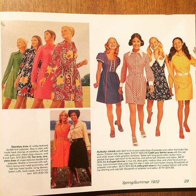 ファッションの本「Fashionable Clothing: From the Sears Catalogs - Early 1970s」 - 画像2