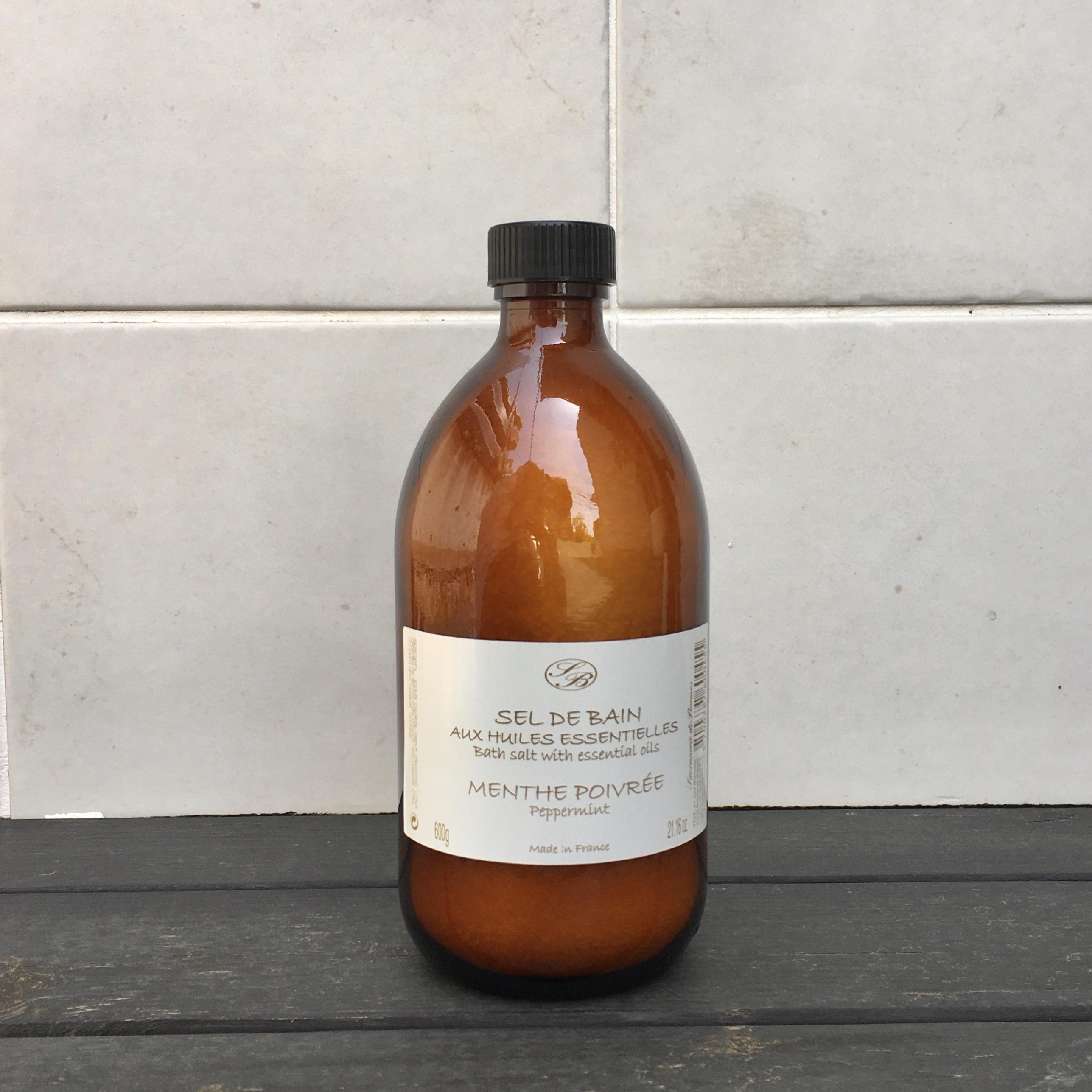""" SAVONNERIE DE BORMES  Bath salt / サボネリー バスソルト600g """