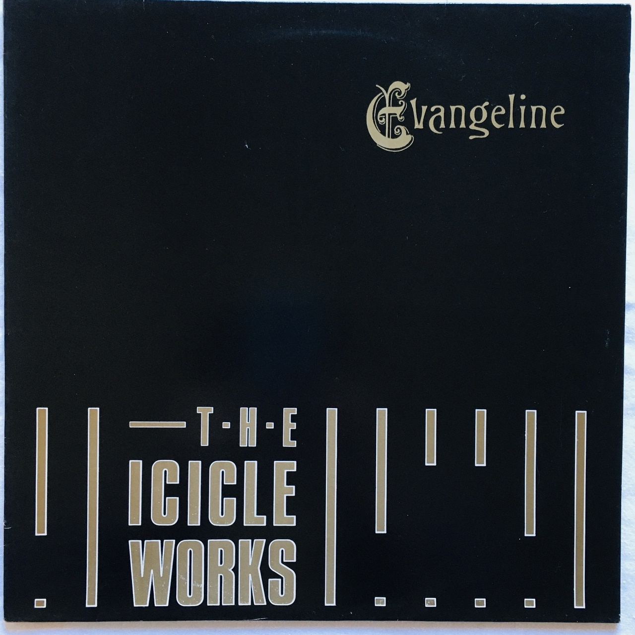 【12inch・英盤】The Icicle Works / Evangeline