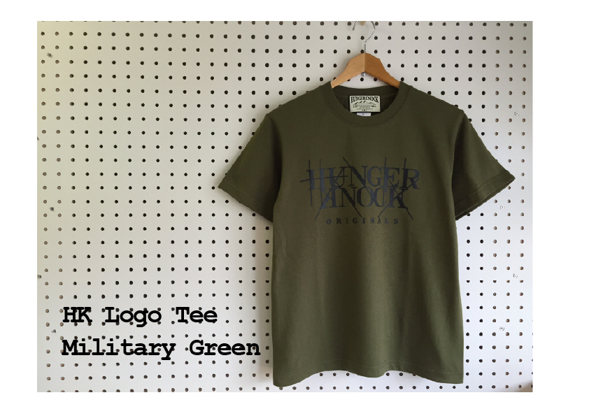 HK Logo Tee /  Military Green