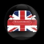 ゴーバッジ(ドーム)(CD0601 - CLUB BMWMINI-SG) - 画像1