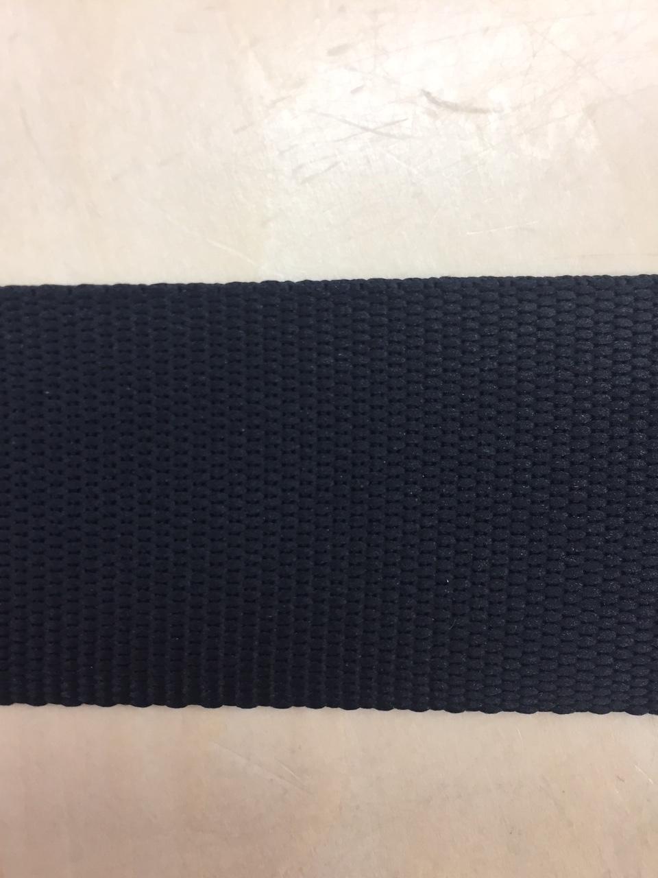YKK ポリエステル テープ TH15-50 50㎜幅 1.5mm厚 黒 5m単位