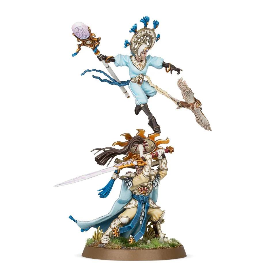 Ellania and Ellathor, Eclipsian Warsages