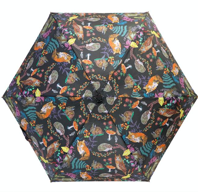 Nathalie Lete Folding umbrella Forest / ナタリーレテ 折り畳み傘