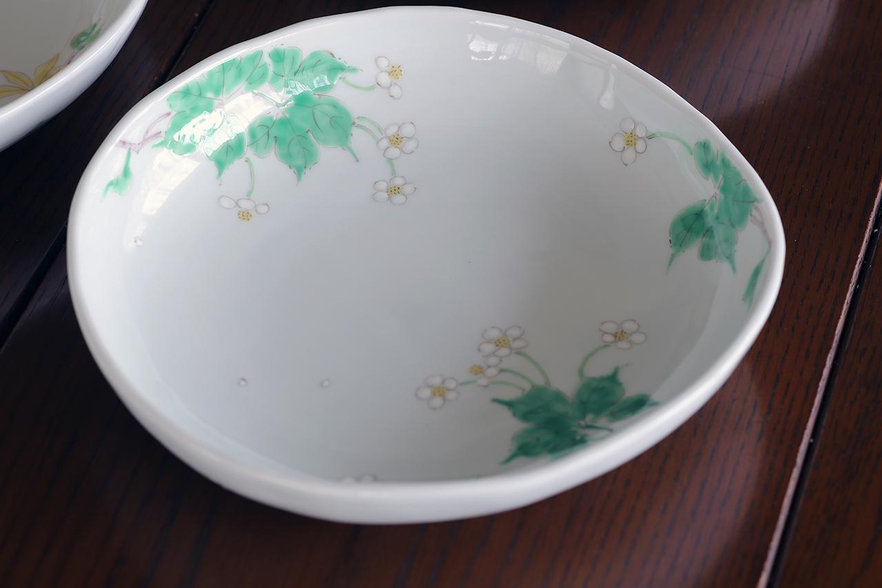 藍水 ハクサンイチゲ 盛鉢 うつわ藍水(波佐見焼)