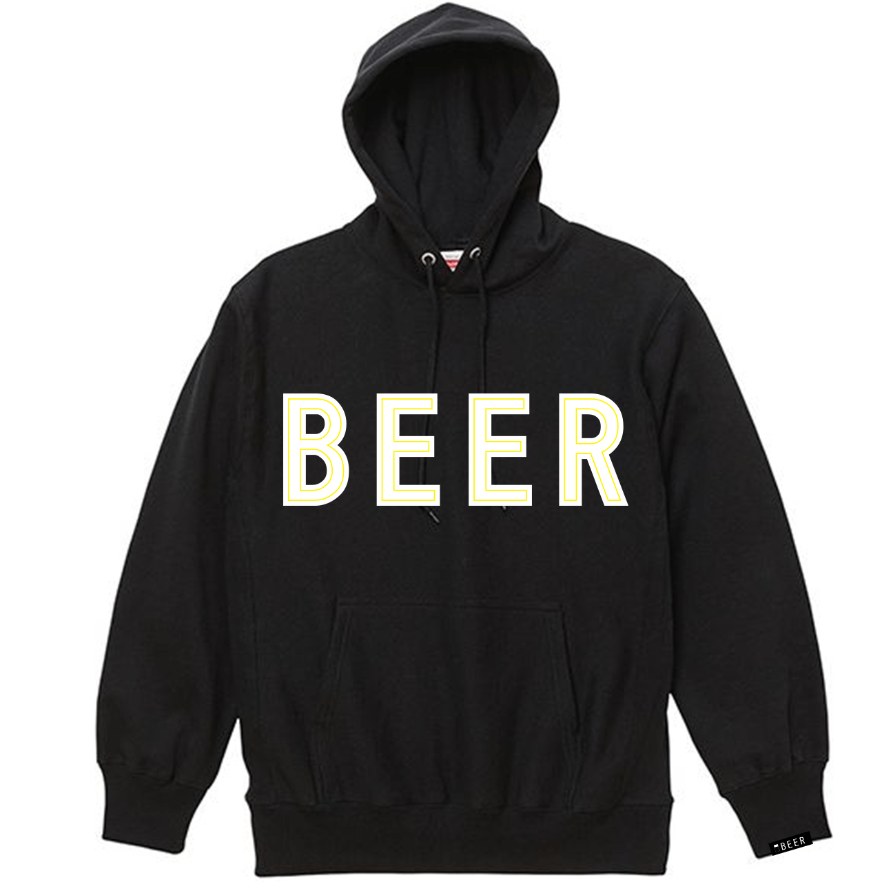 BEER アップリケロゴパーカ