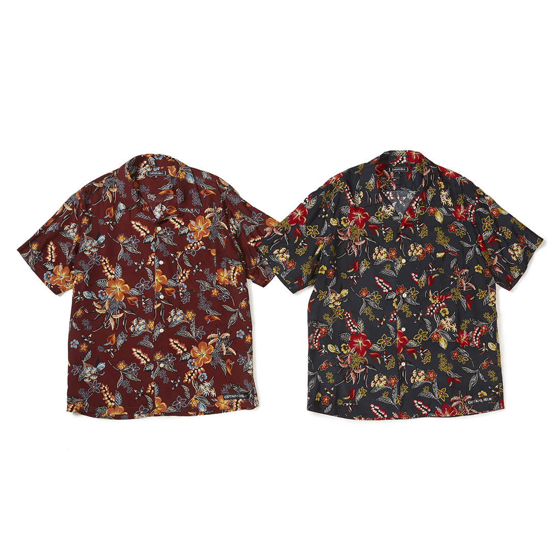 CAPTAINS HELM original #Hawaiian SS Shirts