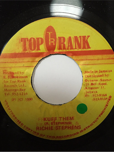 Richie Stephens (リッチースティーヴンス) -Kuff Them【7'】