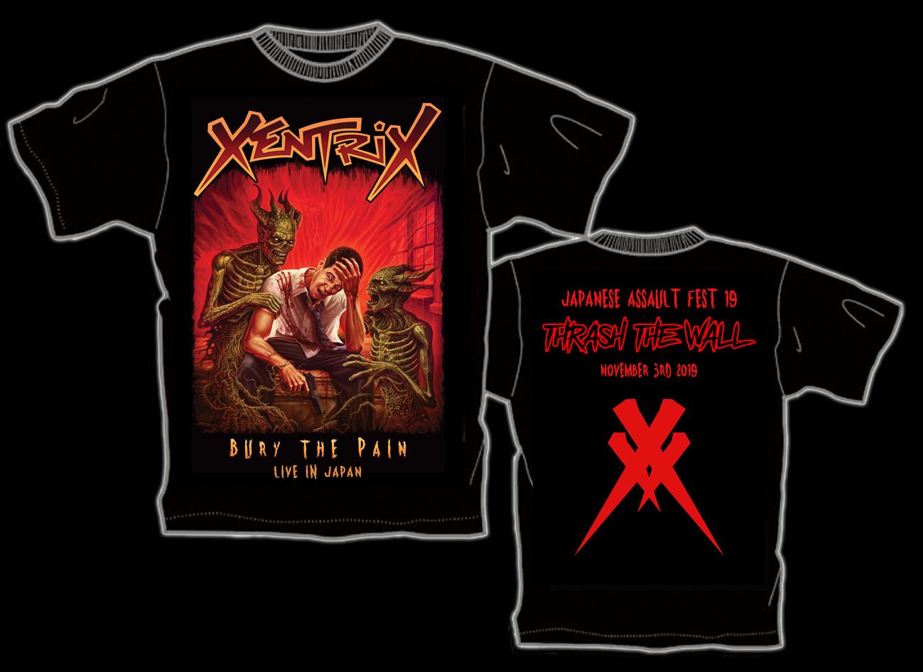 XENTRIX来日記念限定Tシャツ