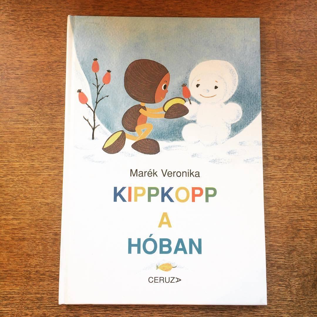 東欧ハンガリー絵本「ゆきのなかのキップコップ/マレーク・ベロニカ」 - 画像1