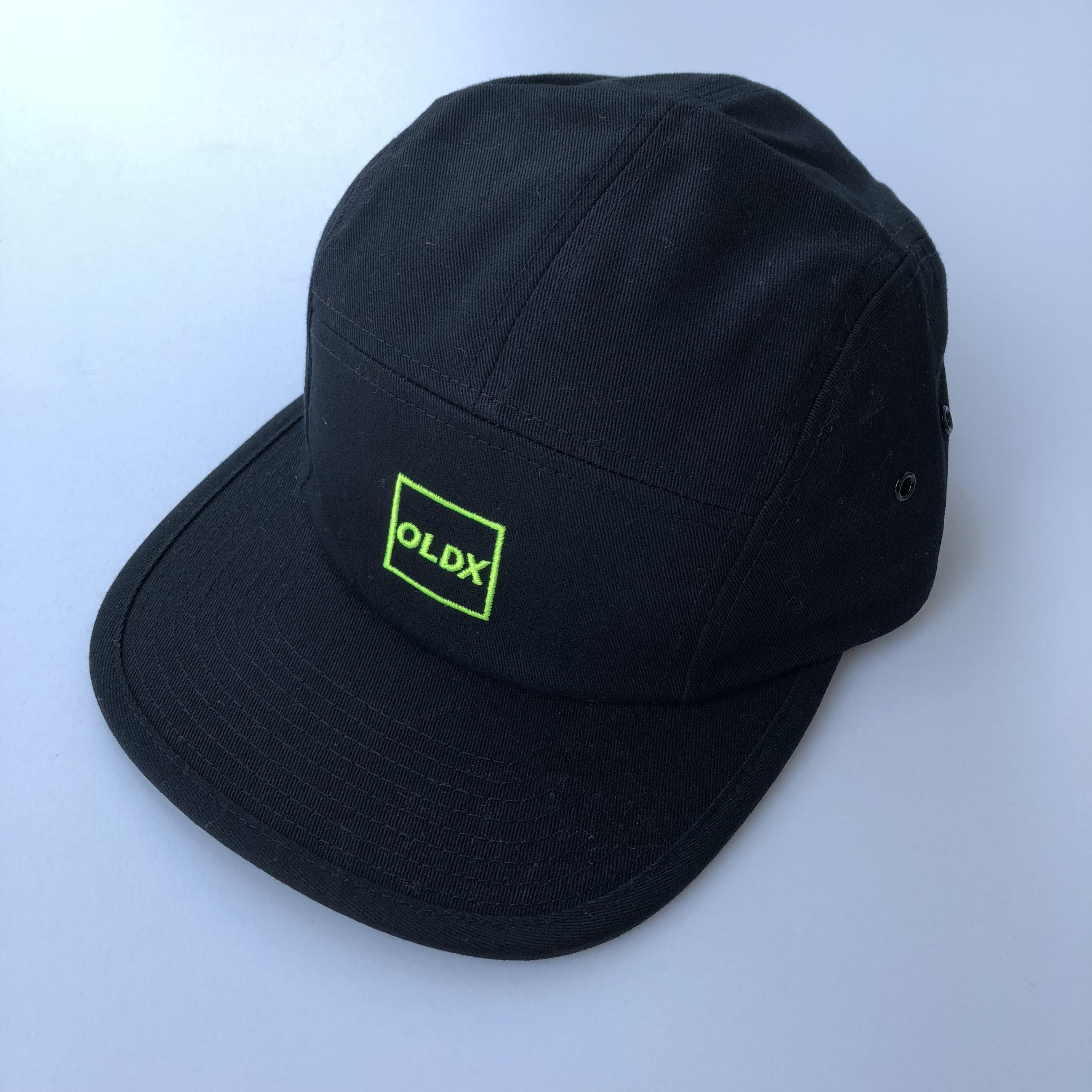 Squar logo camp cap BLACK