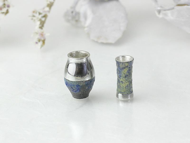 金胎陶芸ペンダント Vase-01