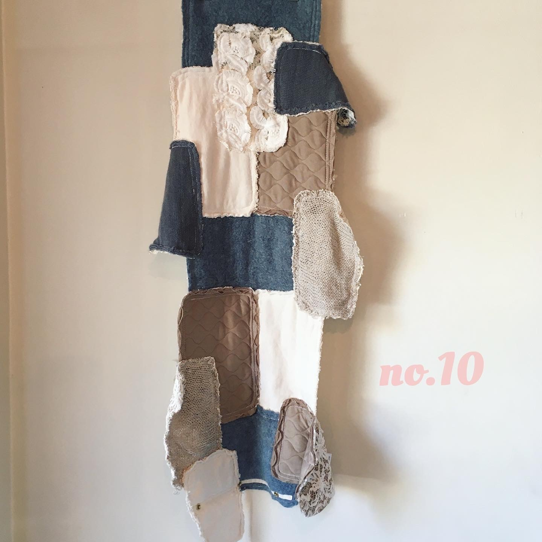 ☆ume限定品【 REHERSALL 】リハーズオール   ニットランダムパッチカラー no.10