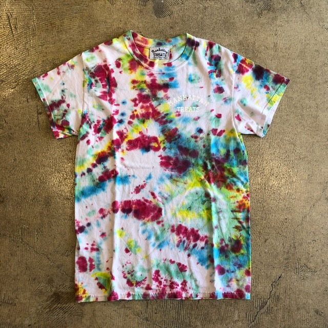 MANHATTAN TREATS #Tie Dye Tee No.4