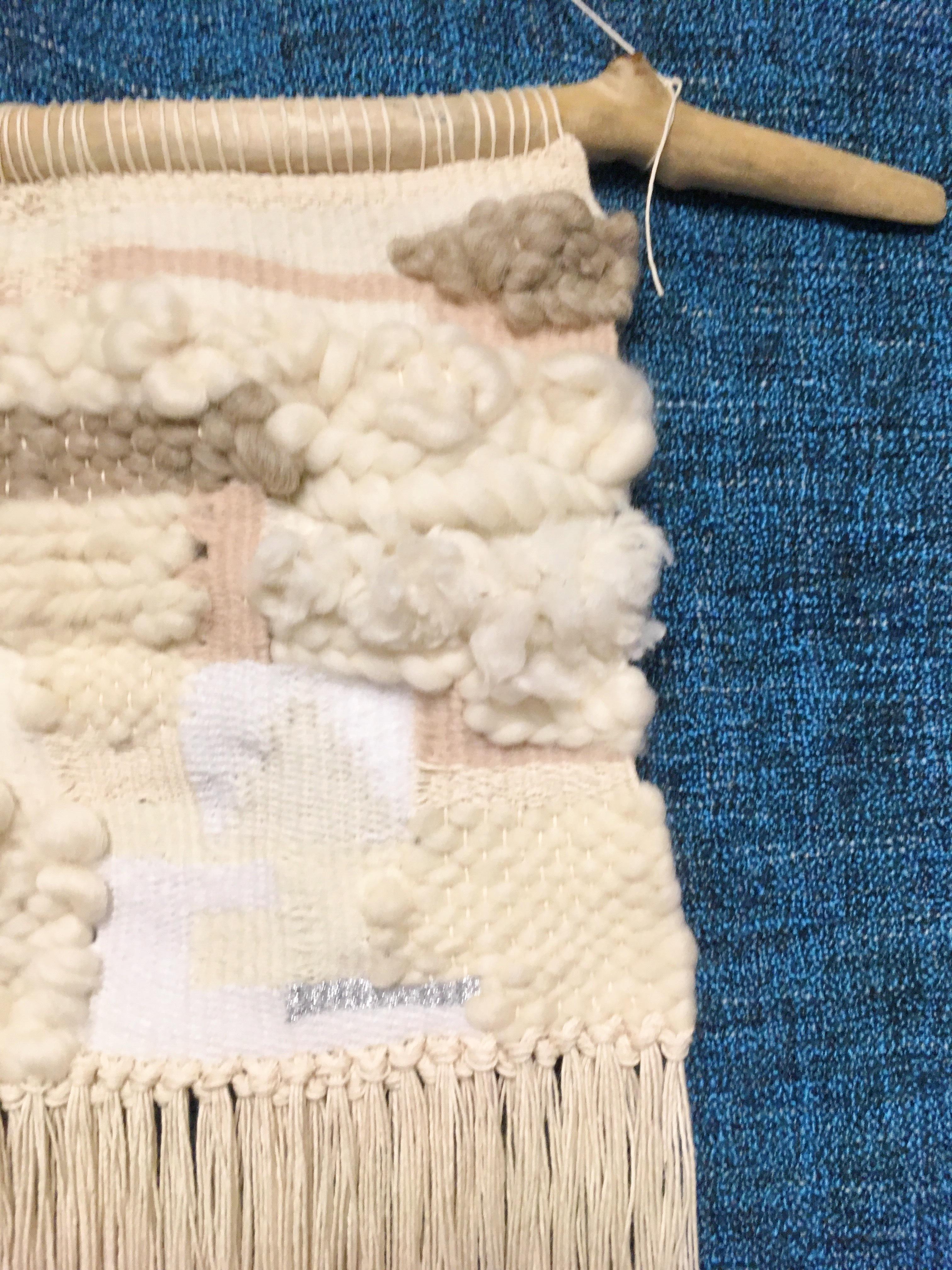 ≪オリジナル≫手織りタペストリー【朝雪】