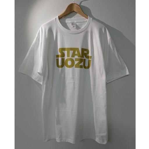 STAR UOZU Tシャツ【2XL】ゴールドプリント ブラック or ホワイトボディ
