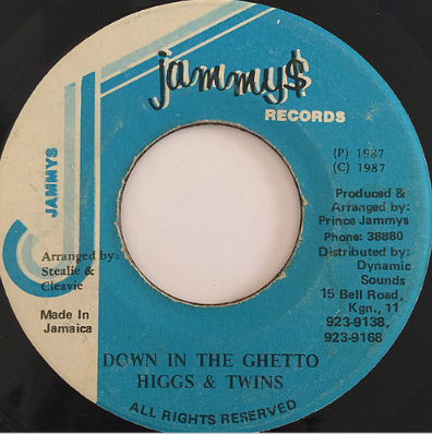 Higgs & Twins (ヒッグスアンドツインズ) - Down In The Ghetto【7'】