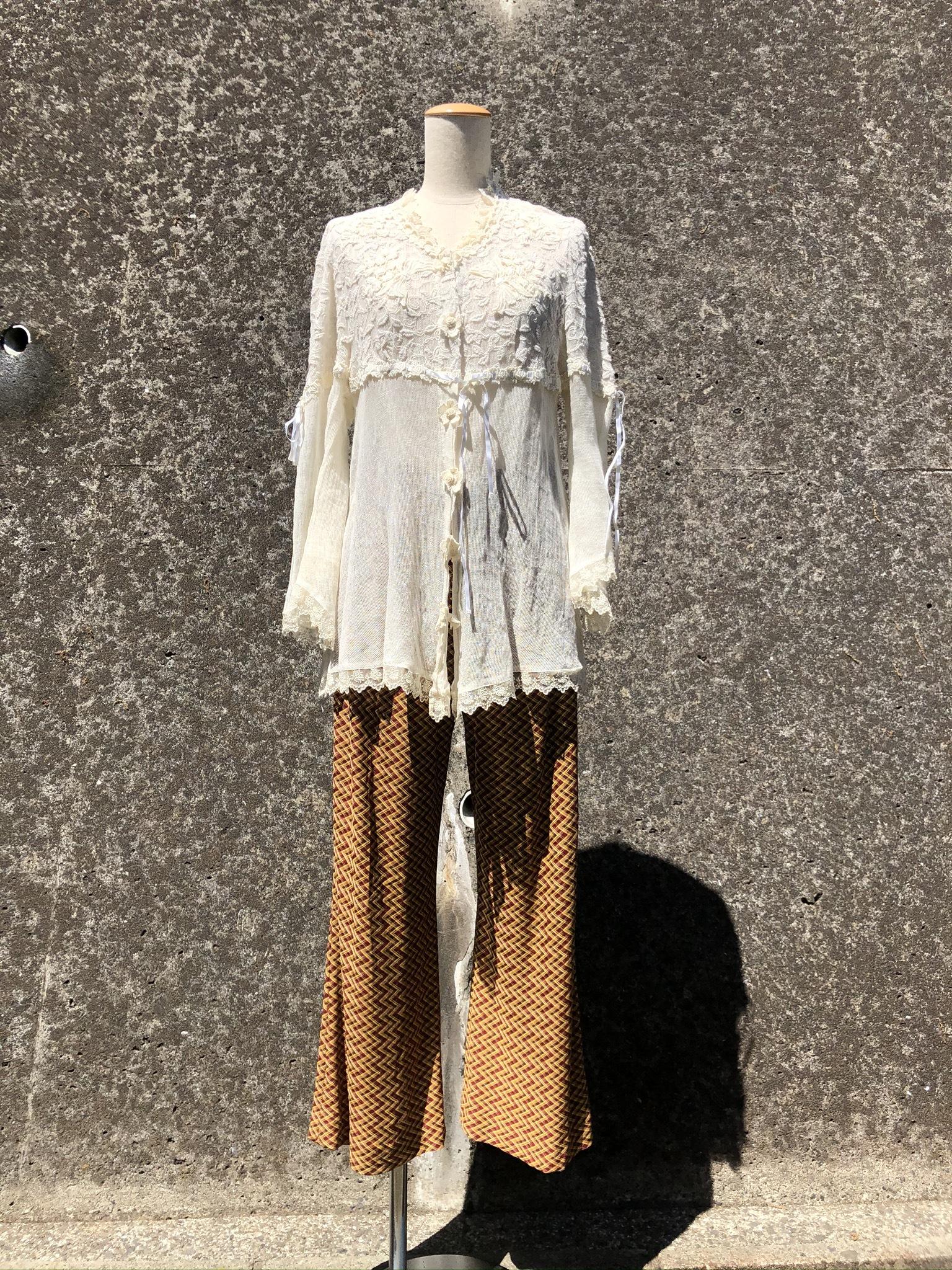 cotton&hemp race cardigan