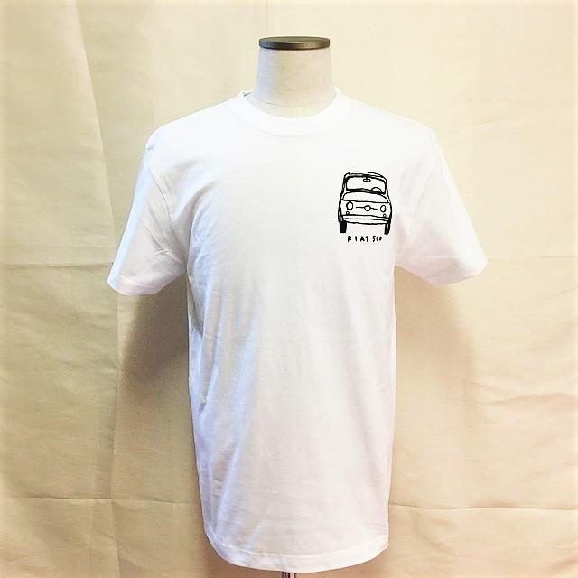 チンクエチェント博物館オリジナルTシャツ/ホワイト