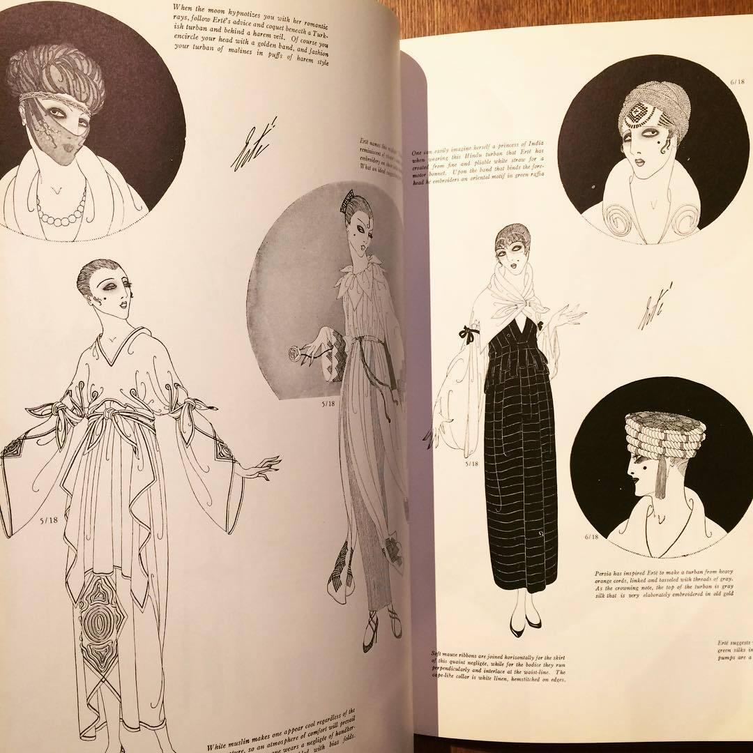 エルテ イラスト集「Erté's Fashion Designs」 - 画像2