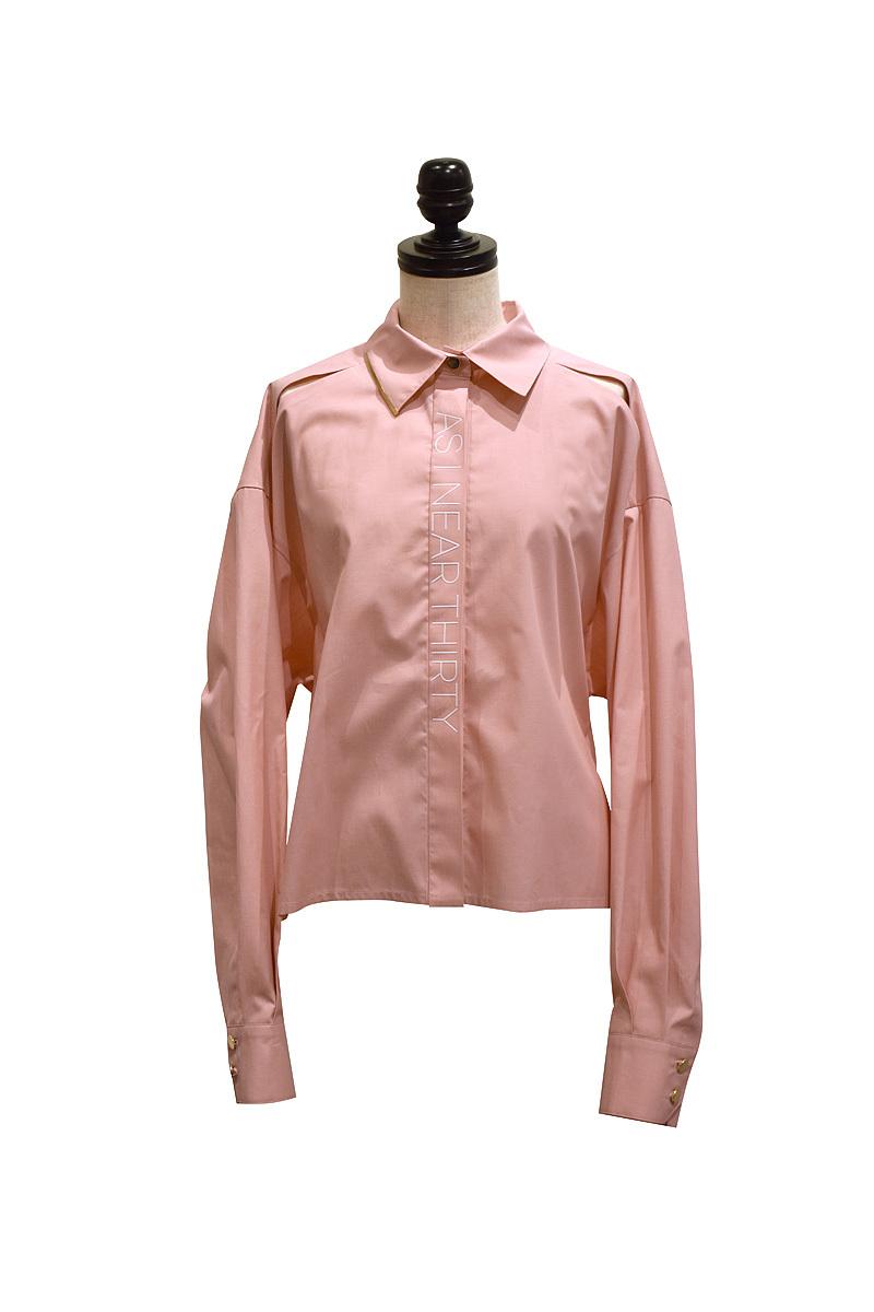 J WOO / blouse 08 / PINK