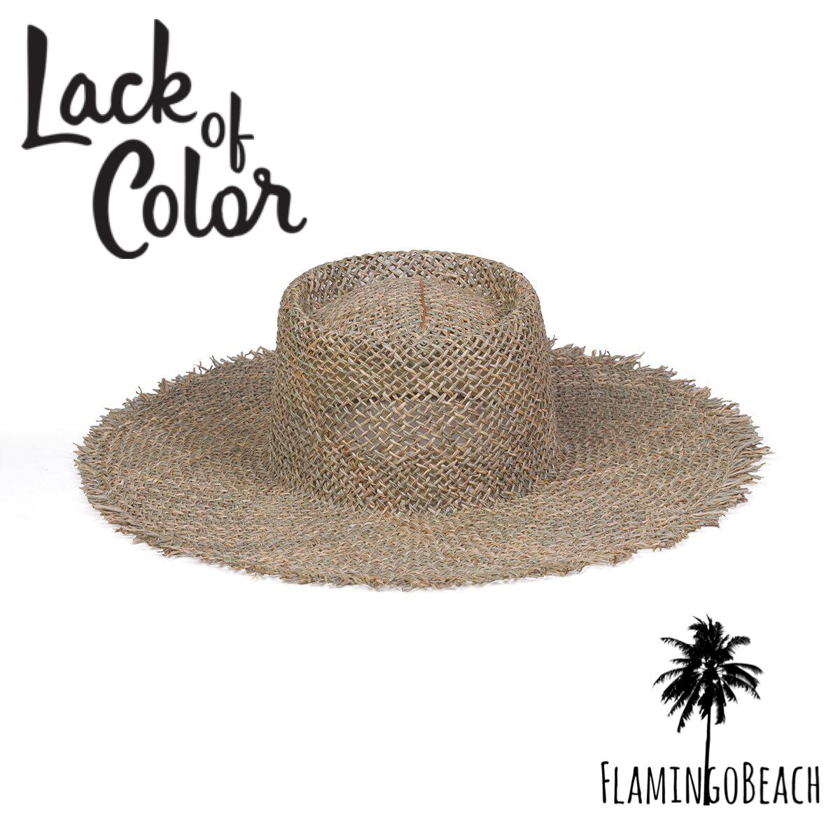 限定販売【Lack of Color】Sunnydip Fray Boater ラックオブカラー