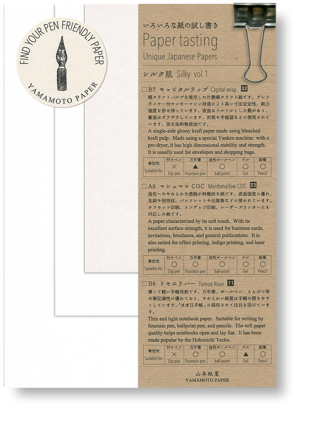 Paper tasting Silky vol.1
