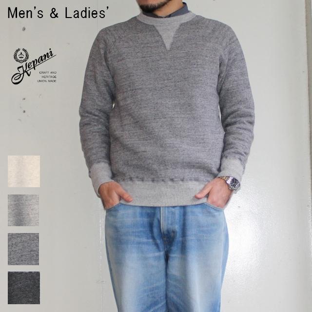 Kepani スウェットクルー Harris-Ⅱ TS8301MS (GRAY) 【Men's / Ladies'】