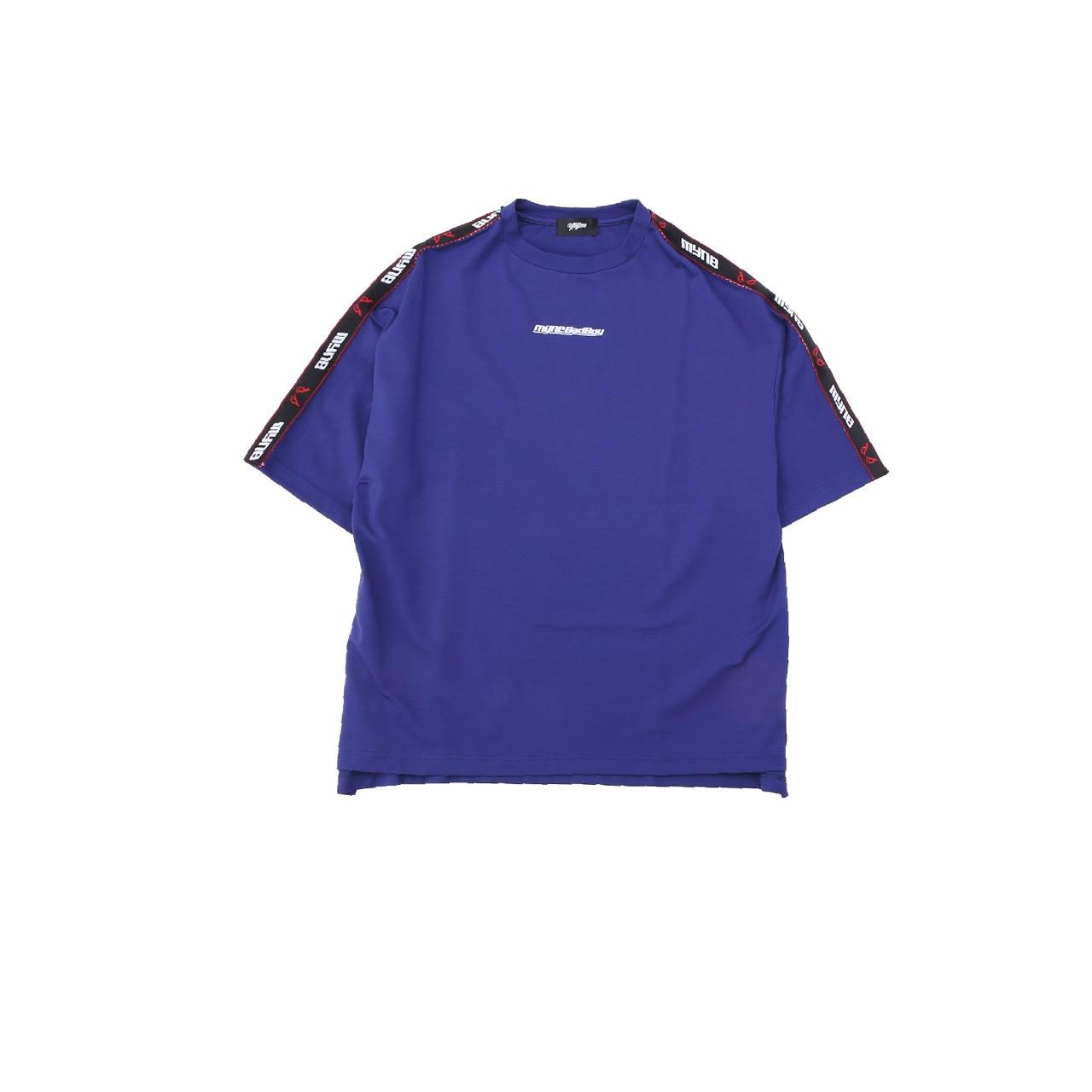 【10%OFF】MYne × BADBOY T-shirt / BLUE - 画像1