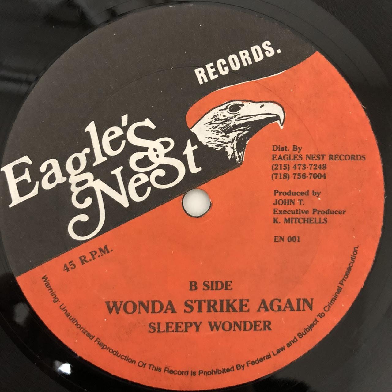 Sleepy Wonder - Wonder Strikes Again【12-50014】