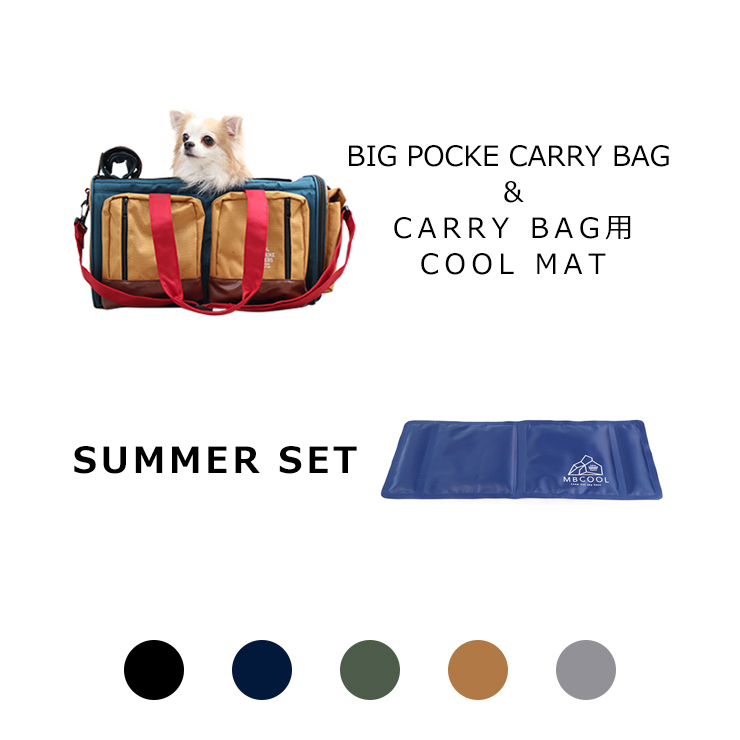 【SUMMER SET】BIG POCKET CARRY BAG&COOL MAT  MANDARINE BROTHERS(マンダリンブラザーズ)