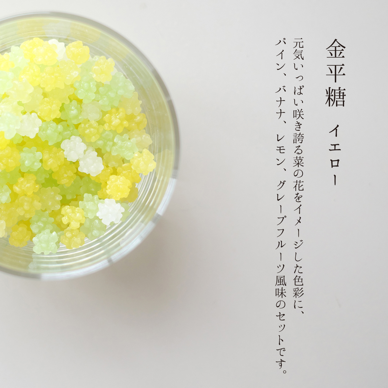 手摺型染め小箱 金平糖セット「江戸シリーズ」