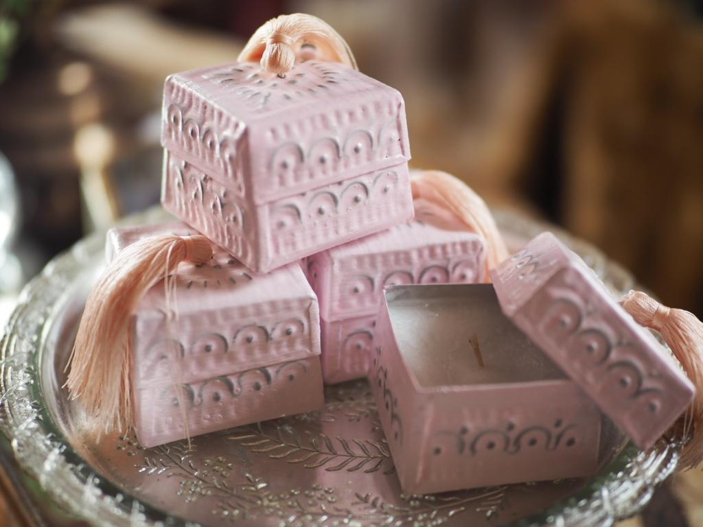 アルミソカシキャンドル pink