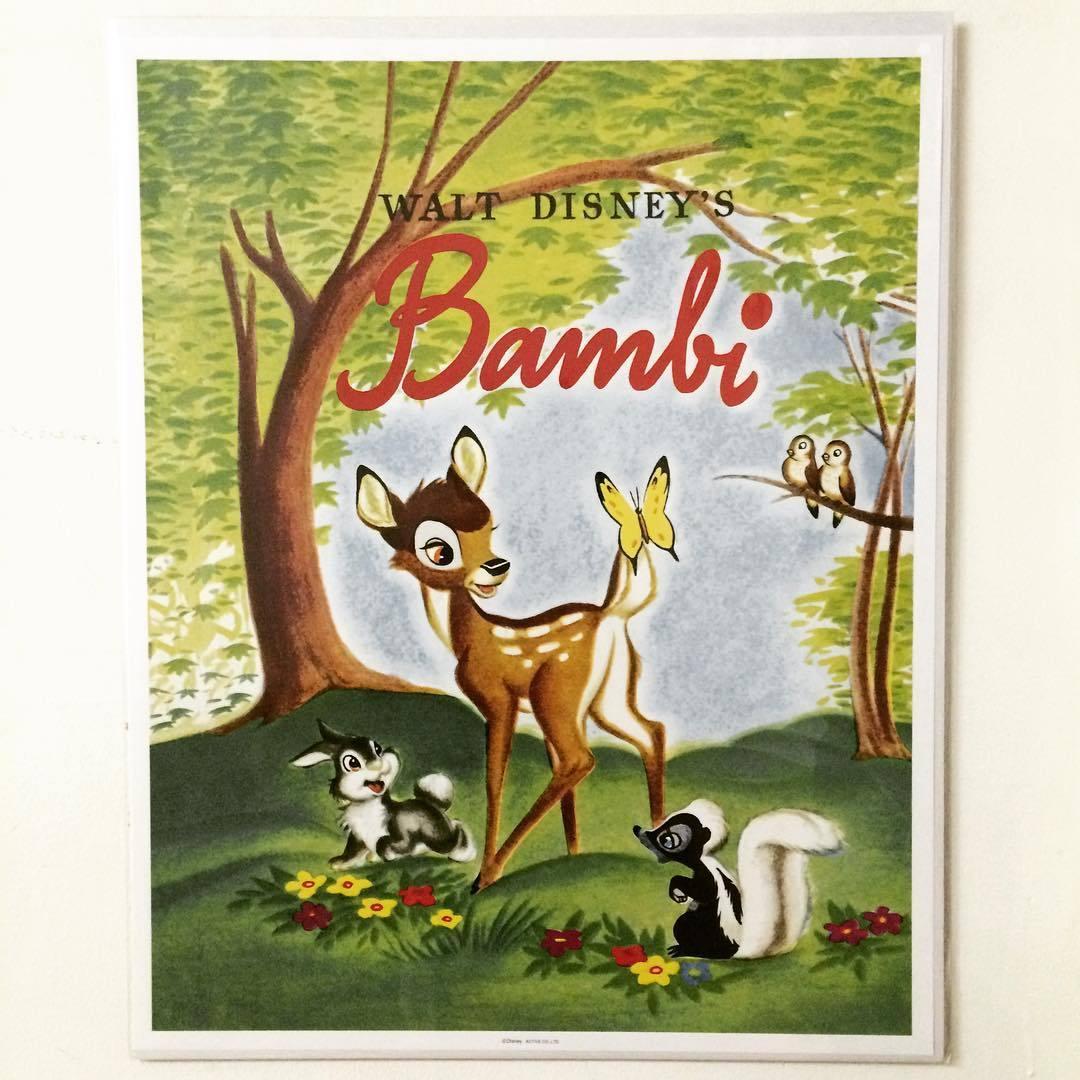 ポスター「ディズニー バンビ」 - 画像1