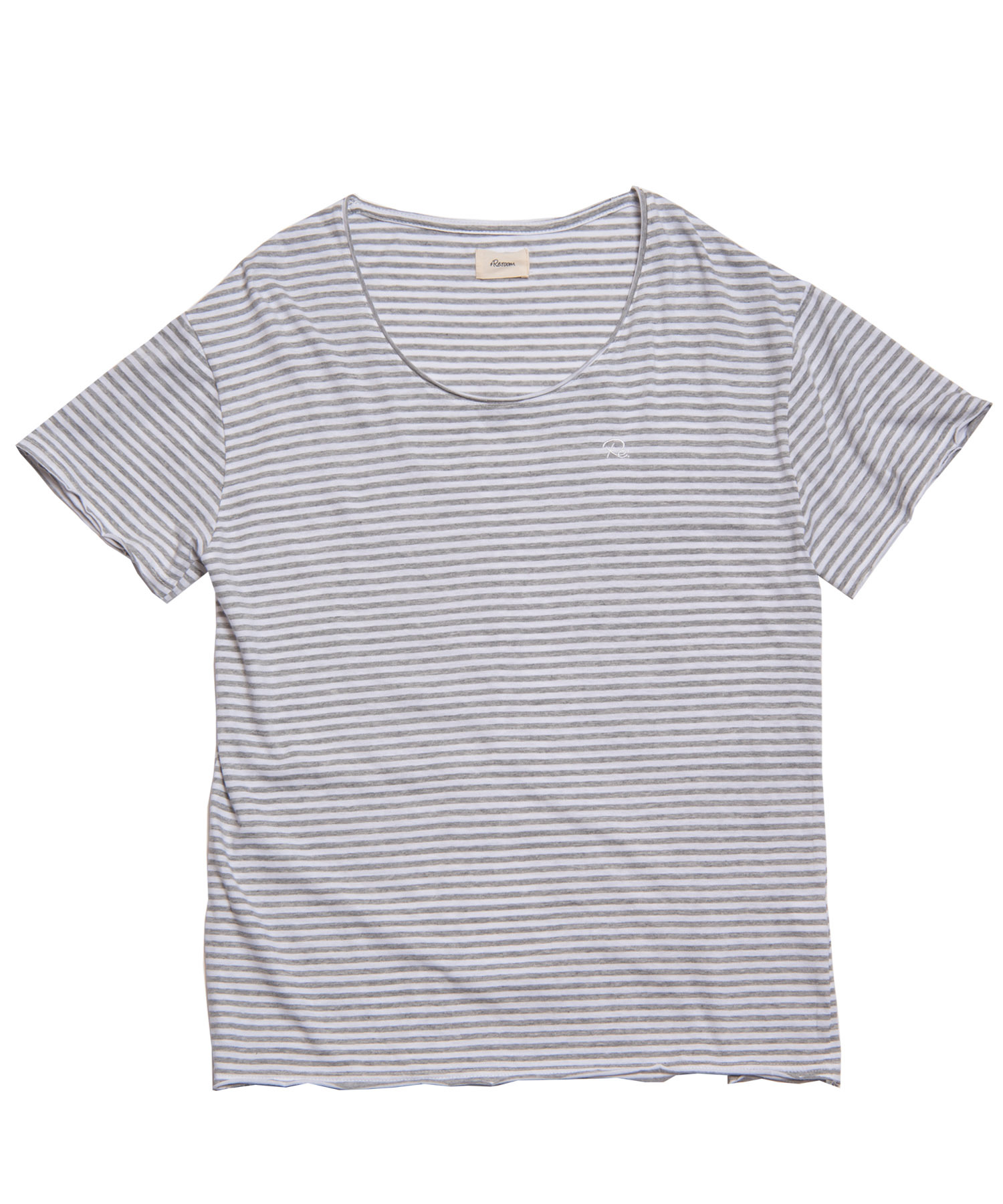 Re: ONE POINT BORDER BIG T-shirt[REC202]