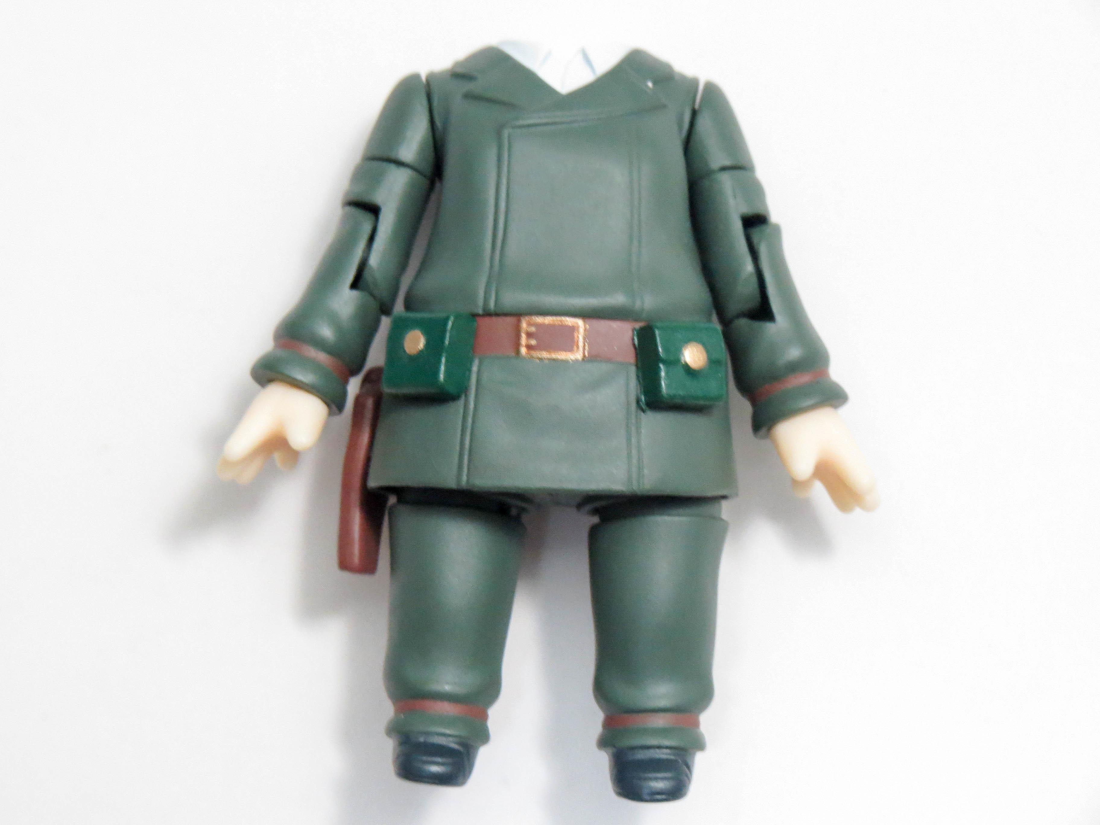 【890】 キノ 体パーツ 戦闘服 ねんどろいど