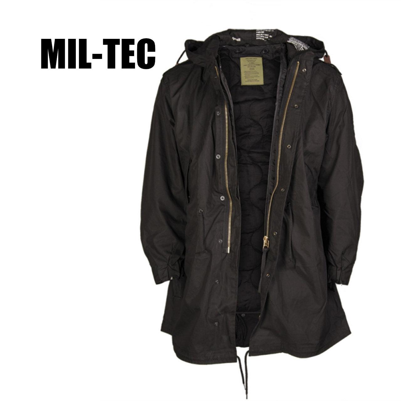 【MIL-TEC M-51】 フィールドパーカ 〈Black〉