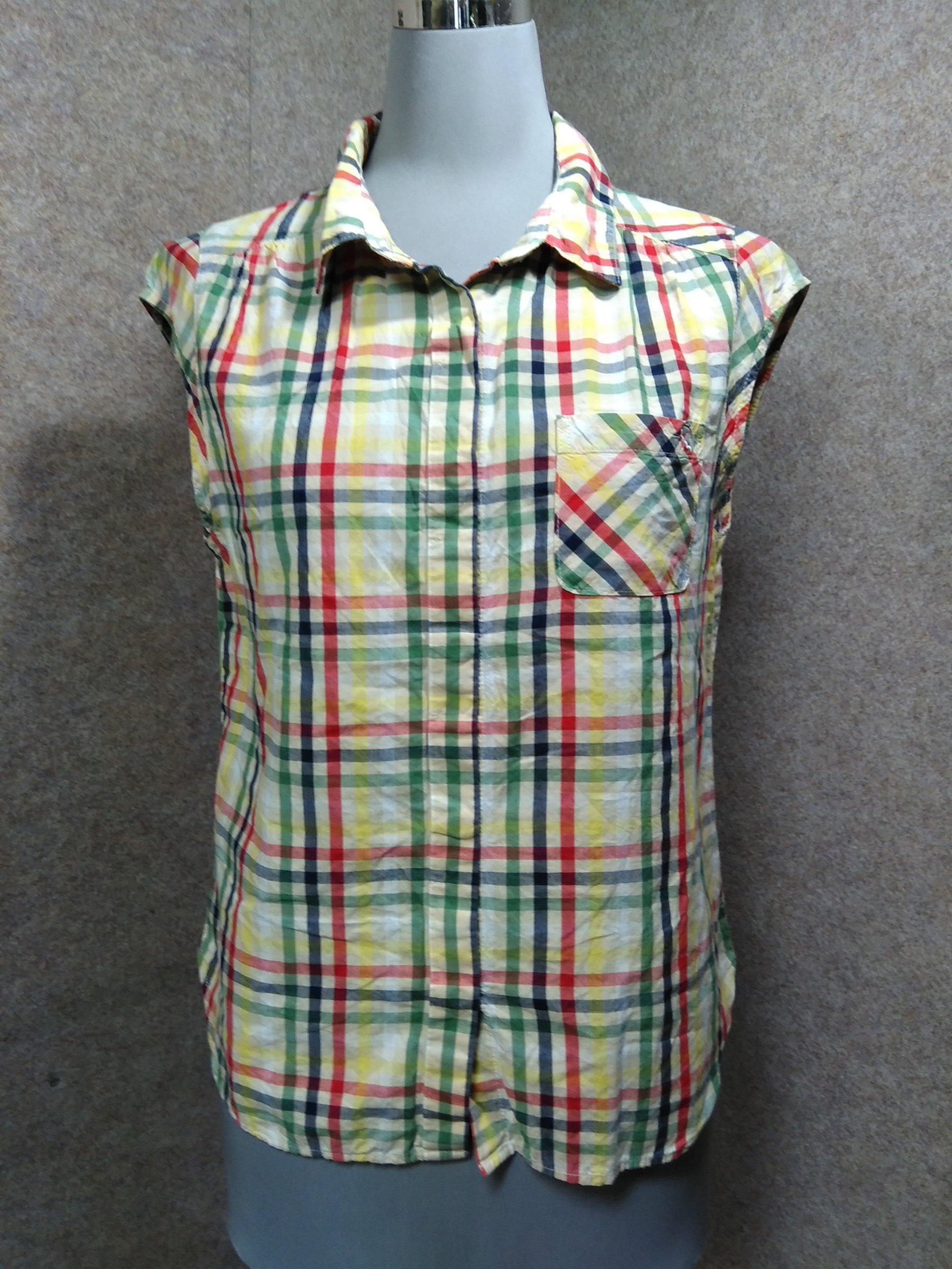 アーノルドパーマー ブラウス ノースリーブシャツ 2 チェック mu692e