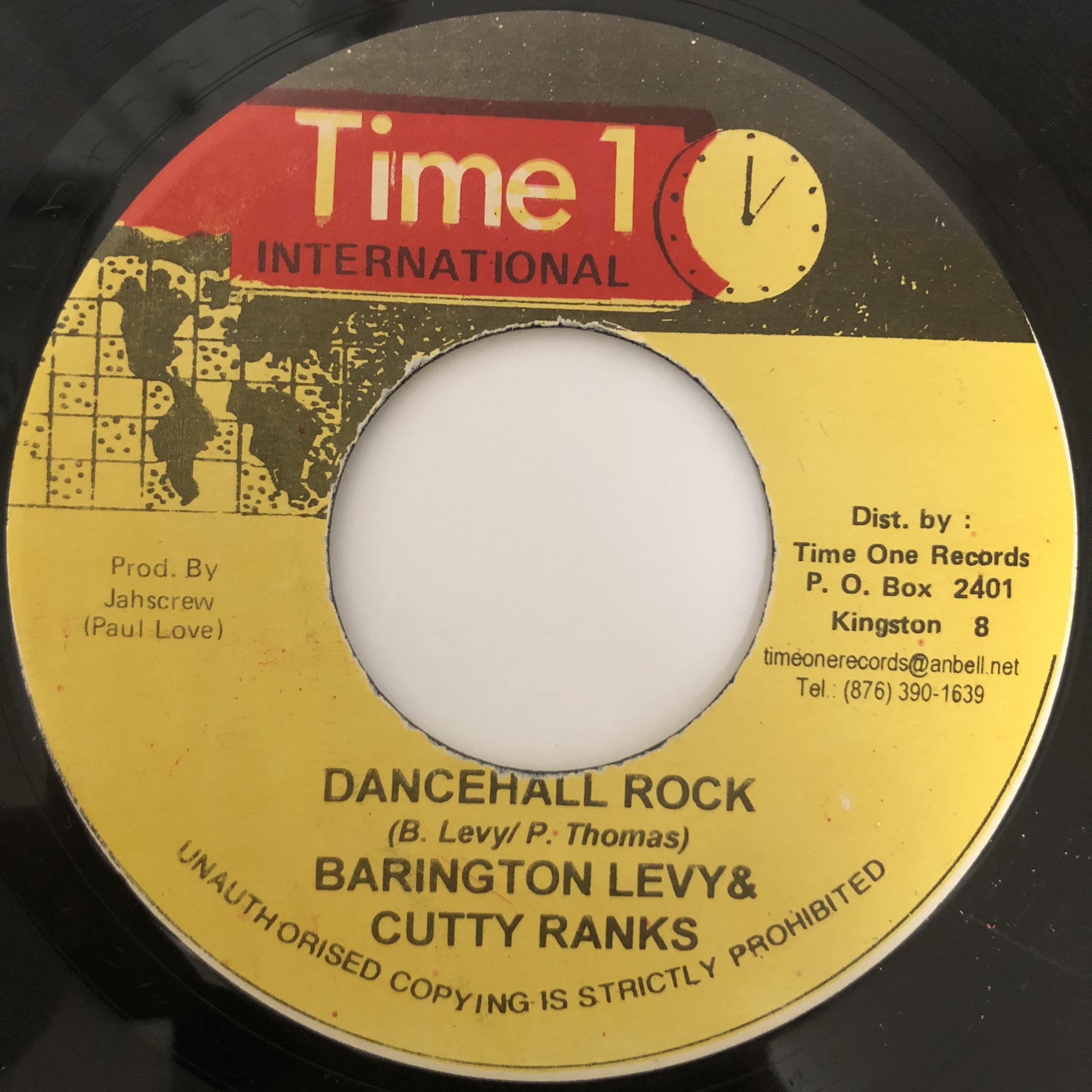 Barrington Levy, Cutty Ranks - Dancehall Rock【7-20391】【7-20391】