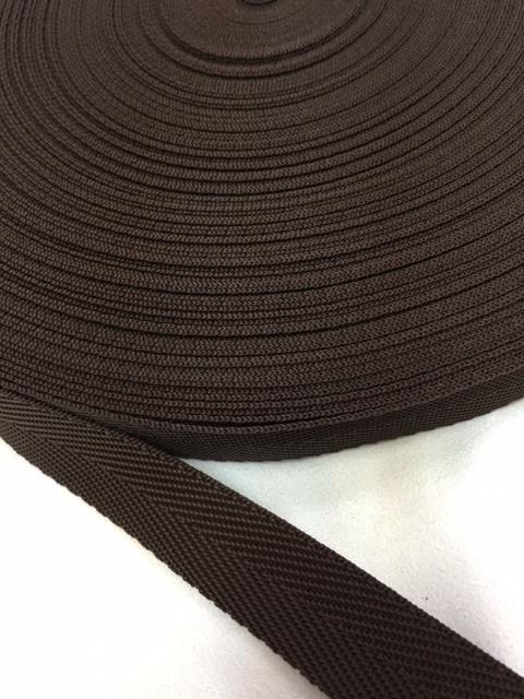 PP 杉綾織(綾テープ) 0.6㎜厚 20mm幅 黒/カラー 5m単位