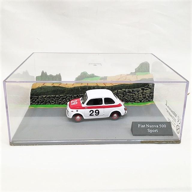 Fiat Nuova 500 Sport Diorama 1/43【CANENCO】【1個のみ】【税込価格】