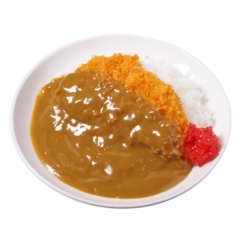 [7002]食品サンプル屋さんのミニグルメ(カツカレー)【メール便・ラッピング不可】