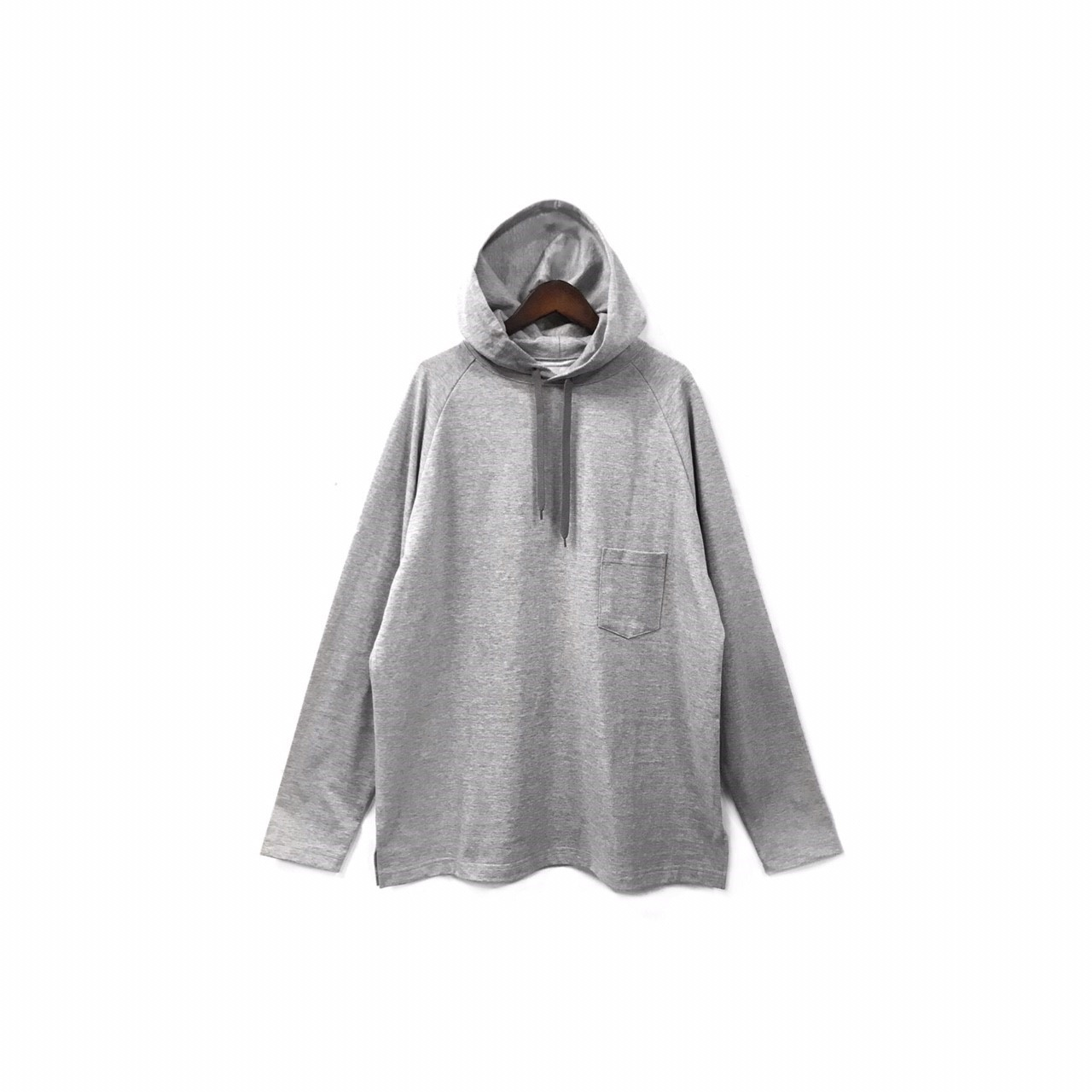 yotsuba - Hooded Cut&Sew / Gray ¥12000+tax