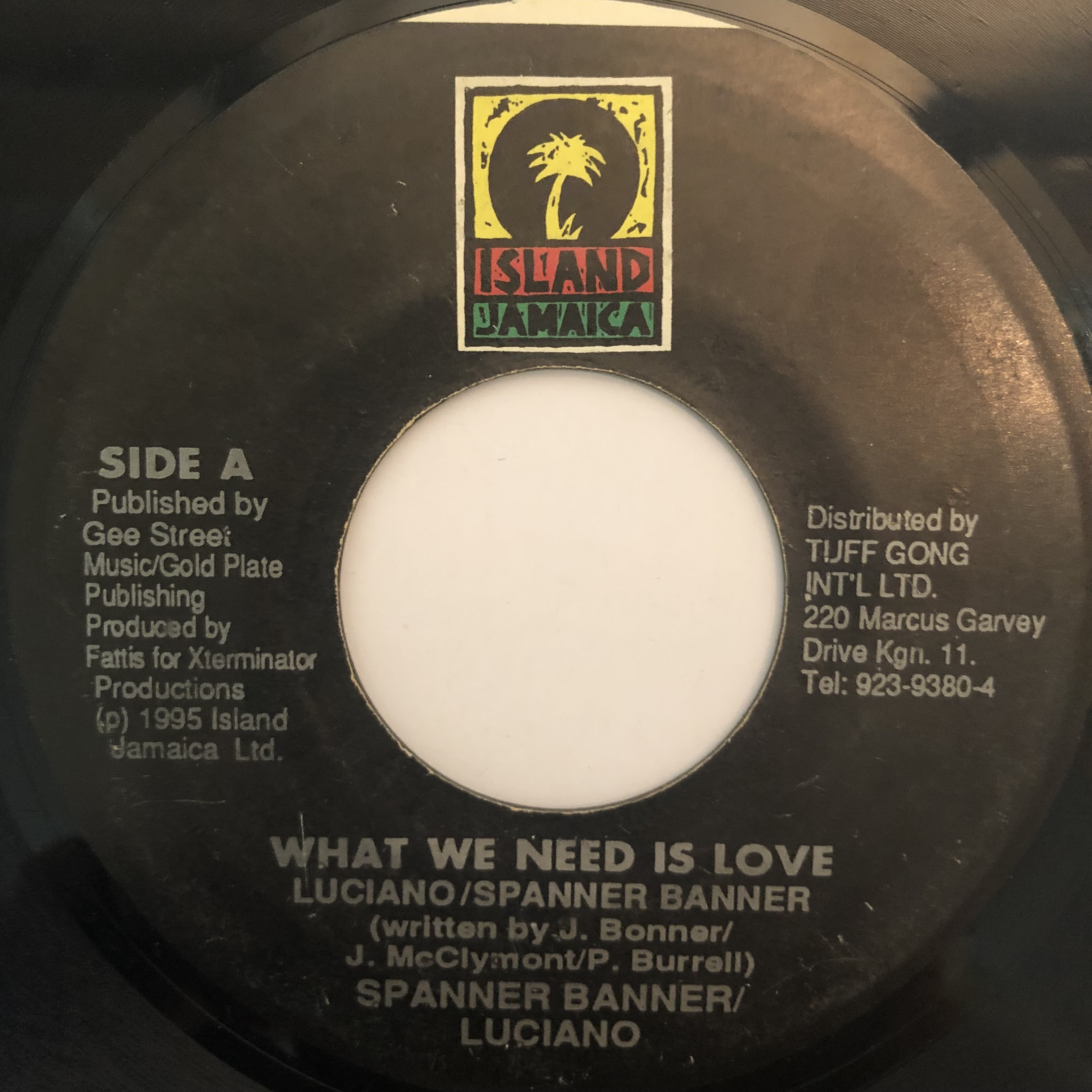 Spanner Banner , Luciano - What We Need Is Love【7-20267】