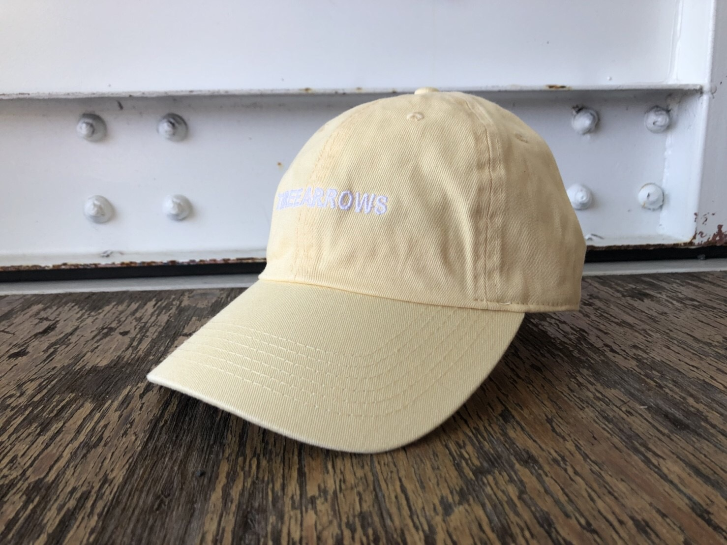 THREEARROWS刺繍CAP (yellow)