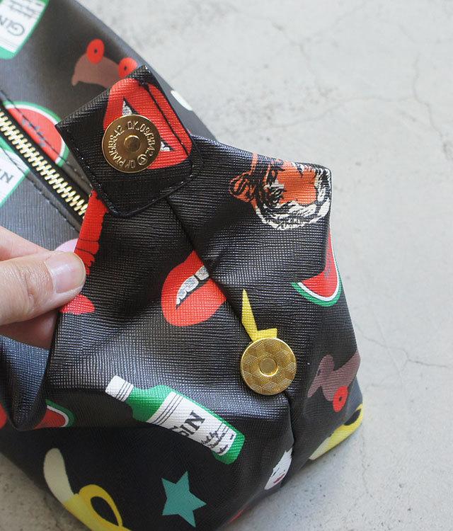 TattyDevine×MI-PAC タッティーディバイン マイパック GOLD WASH BAG CHARACTERS レディース ポーチ プレゼント 正規販売店 通販 (品番mi009)