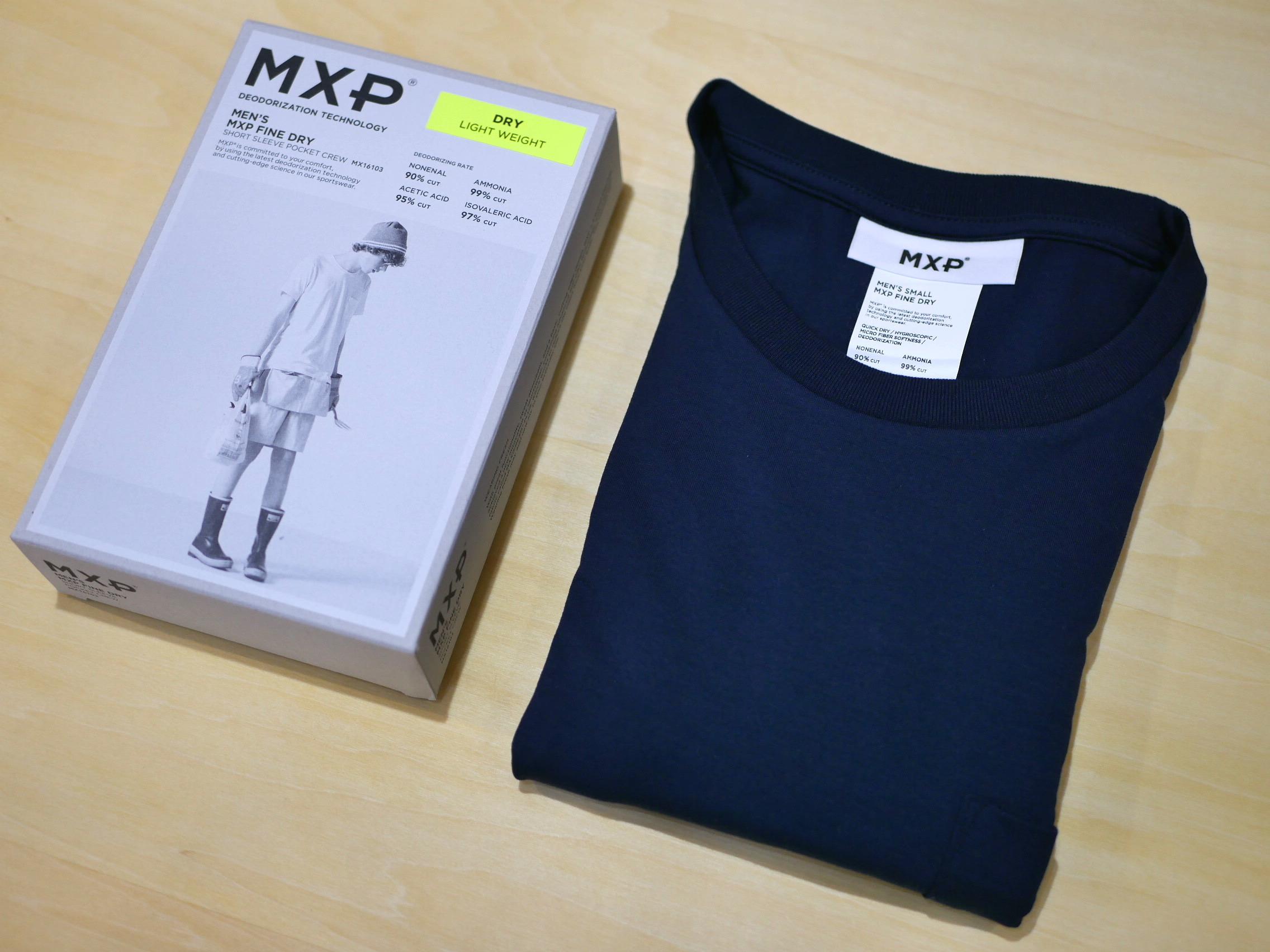 MXP / FINE DRY POCKET-T(NAVY)
